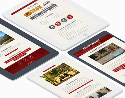 UA Viewbook Website