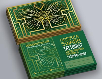 Branding - Tattoo Artist Andrea Swabb