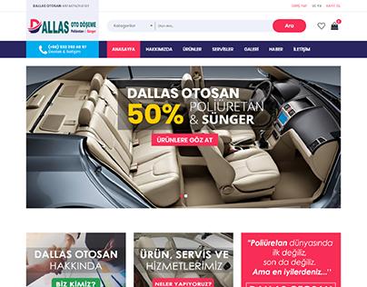 Dallas Otosan Kurumsal Eticaret Ecommerce Web Design