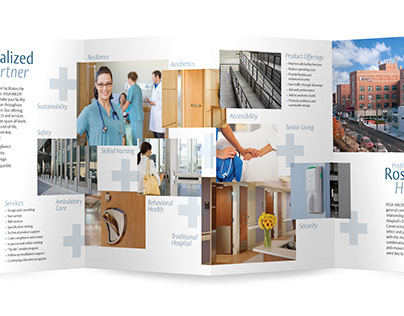 The Continuum of Care | Brochure Design