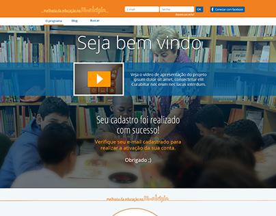 Melhoria da Educação no Município - Itaú Social