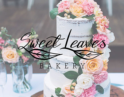 Sweet Leaves Bakery Branding
