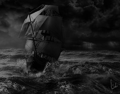 Ocean Chaos - Image composition