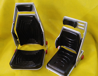 Military Vehicle Chair