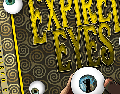 Expired Eyes Book Cover layout