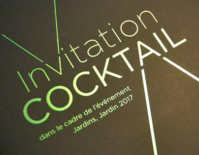 Carton d'invitation - dorure sur Fedrogoni Spendorlux