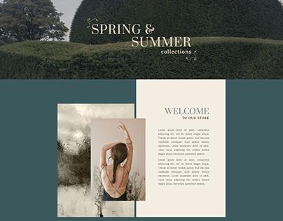 INFINITY FASHION _ MODERN WOOCOMMERCE WEBSITE DESIGN