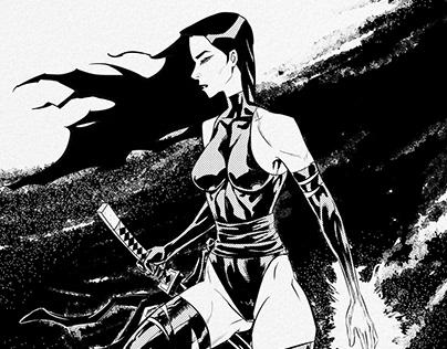 Psylocke Ink