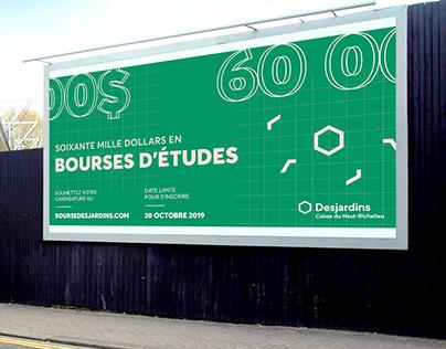 Affichage - Bourses d'études Desjardins