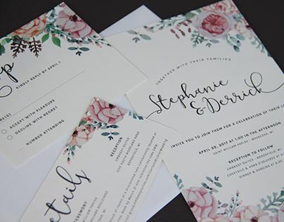 Wedding Suite - Stephanie & Derrick