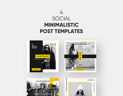 Free 4 Instagram Templates