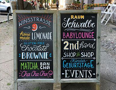 Chalkboard Letterings