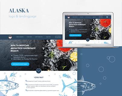 Alaska logo & web desine