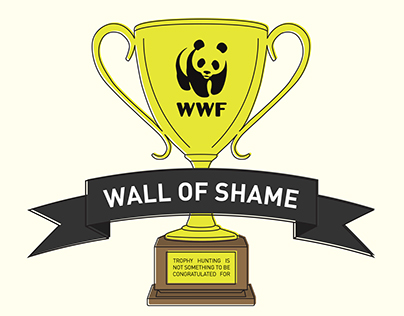 Infographic - WWF: Wall of Shame - Trophy Hunting Stats