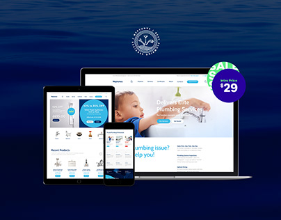 Neptunus - Water Park WordPress Theme