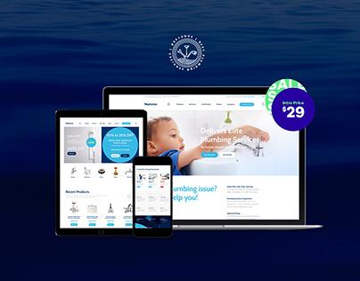 Neptunus - Water Park WordPress Theme