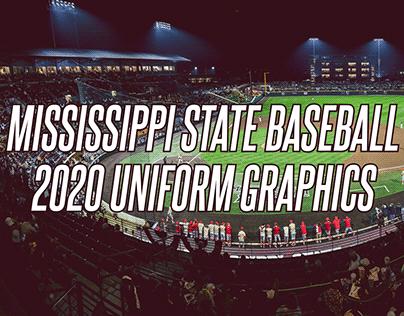 2020 Mississippi State Baseball Season Graphics