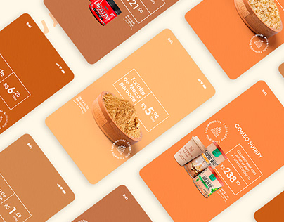 Material promocional Farmellis Suplementos Nutricionais