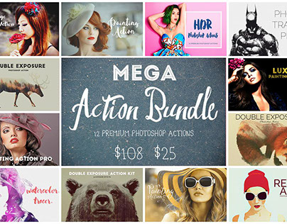 Mega Action Bundle (77% Off)