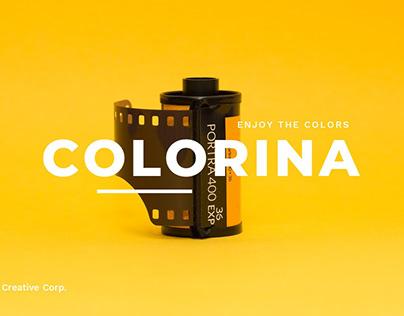 Colorina – Creative PowerPoint Template