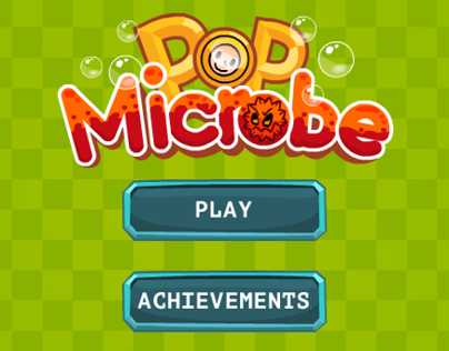 Flash game PopMicrobe
