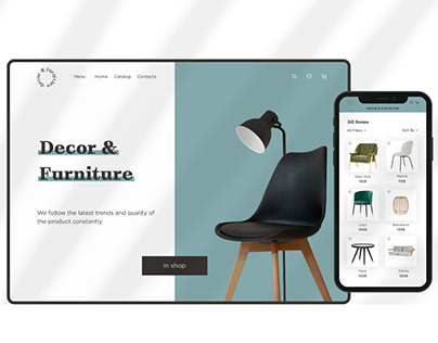 Decore&furniture online-store