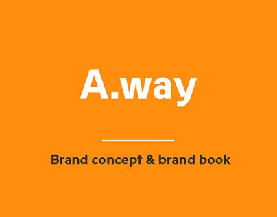 A.way - Brand concept & brand book