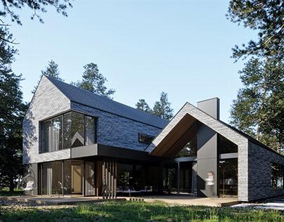 House in Magdalenka