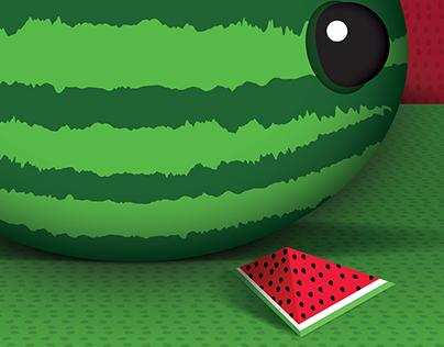 Happy Birthday Watermelon Time
