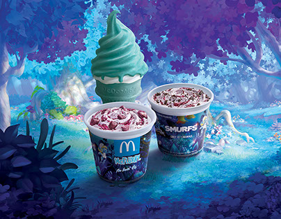 McFlurry Taro Delight