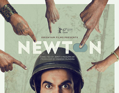 Newton Movie Poster