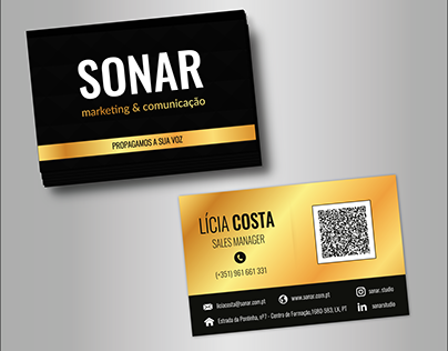 SONAR - Business Card