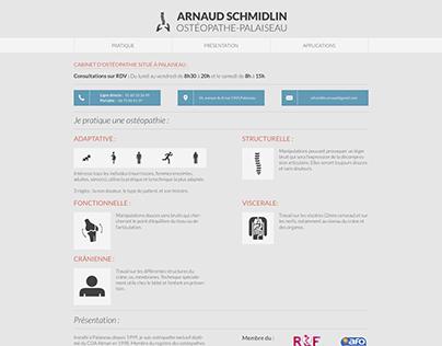 Cabinet d'ostéopathie - Arnaud Schmildin