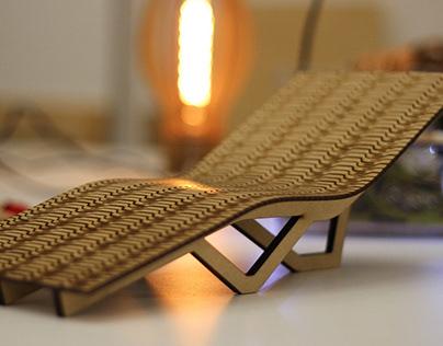 Wavy Lounge Chair