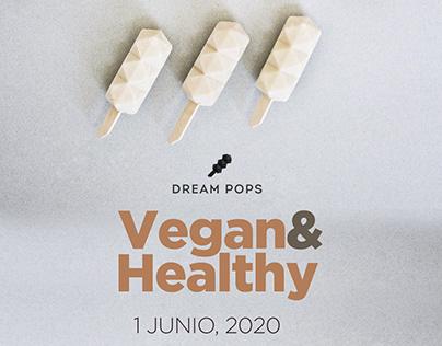 Dream Pops Vegan&Healthy