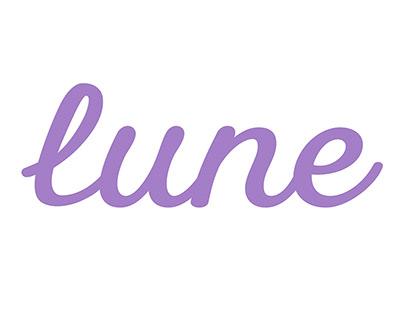 lune - logo design