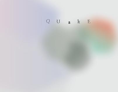 Quake - poster