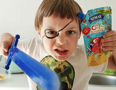 CHUMAK, Pasta Sauce for kids.