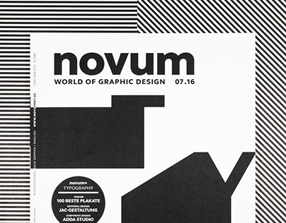 novum 07.16 »typography«