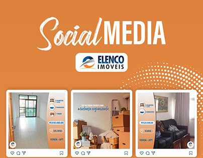 Social Media | Elenco Imóveis