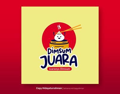 Dimsum Logo: Dimsum Juara (New Dimsum Brand In Jakarta)