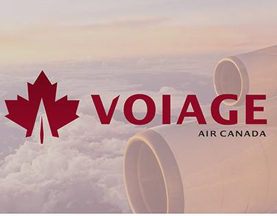 Voiage Premium Airline Branding