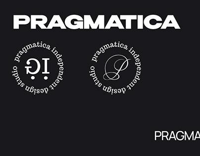 PRAGMATICA (design studio) - redesign identy