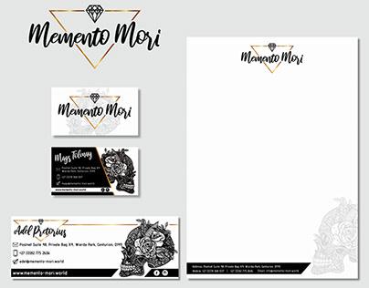 Memento Mori Corporate Identitiy Design