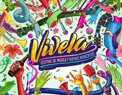 Vívela Fest 2018 / Key Visual