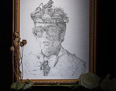 Ilustración Conceptual de Elton John