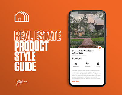 Product Style Guide | Real Estate Firm