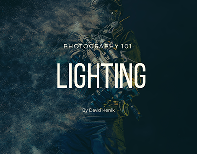 Photography 101: Lighting