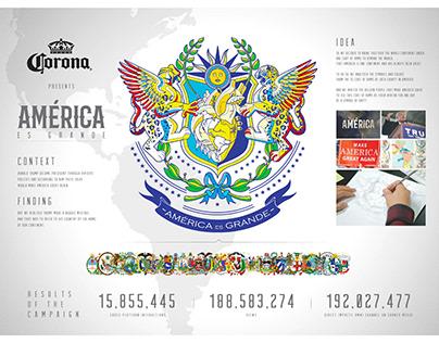 Corona América es grande