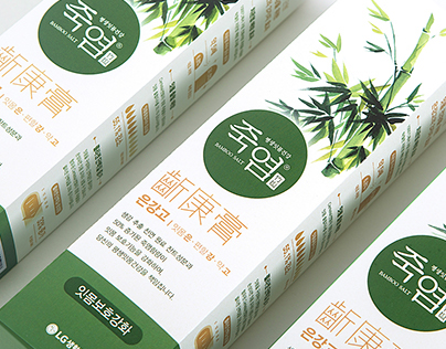 Bamboo Salt Toothpaste - Package Design